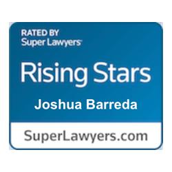 Joshua Barreda Law Super Lawyers Rising Star
